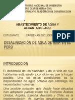 DESALINIZACIÓN DE AGUA DE MAR EN EL PERÚ.pptx