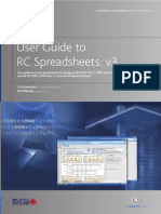 BCA - RC Spreadsheet User Guide Version 3