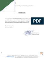 Certificat Stabilite MAXIBUST