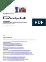 Economics Exam Technique Guide