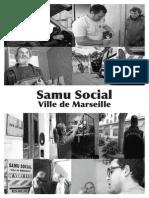 Plaquette du Samu Social de Marseille 2014