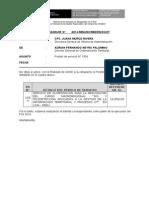 Memorandum Alquiler LIMA