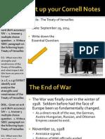 WEBNotes - Day 7 - 2014 - Treaty of Versailles