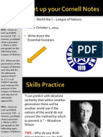 WEBNotes - Day 9 - 2014 - League of Nations