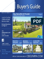 Coldwell Banker Olympia Real Estate Buyers Guide October 4th 2014