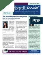 UHY Nonprofit Insider - October 2014