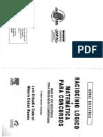 RACIOCINIO LOGICO E MATEMATICA PARA CONCURSOS 750 questoes.pdf