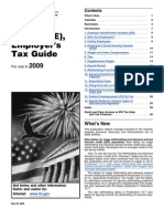 IRS Publication 15 Tax Guide - 2009