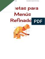 Menús Refinados El SexTo NiveL. Escritura creativa.