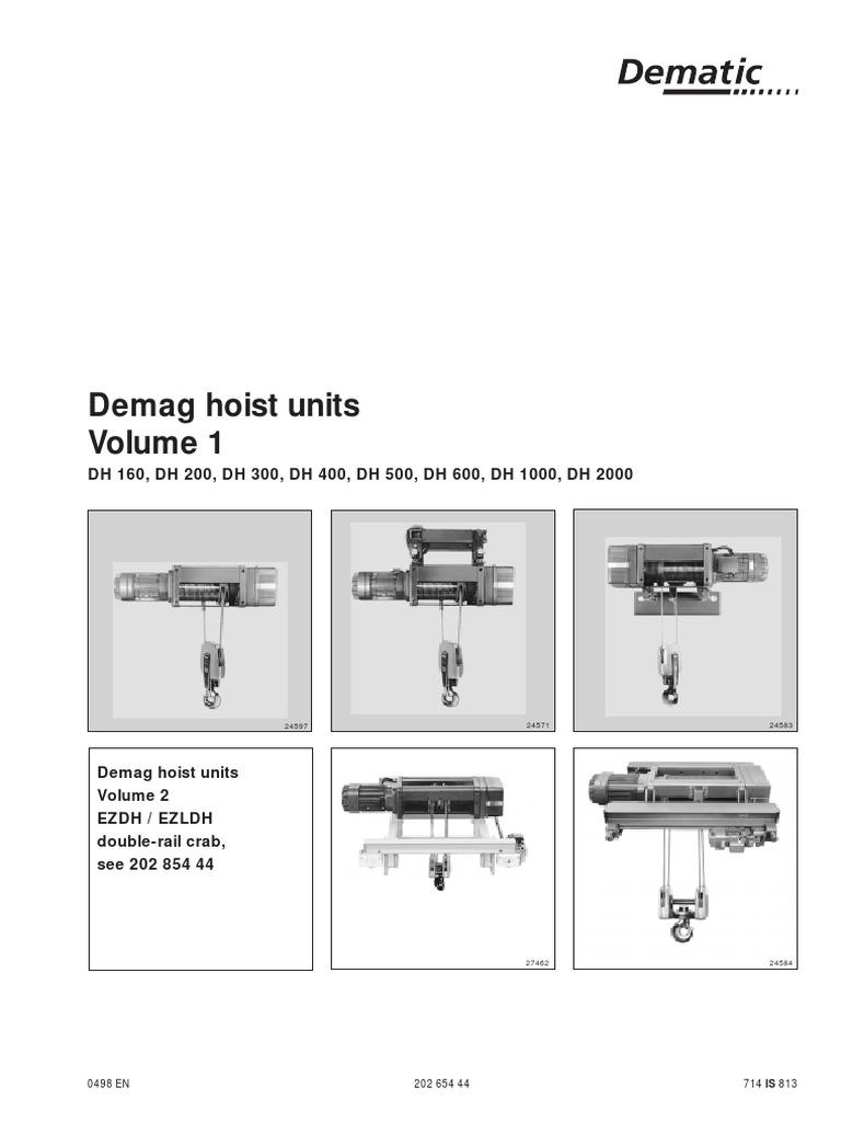 Demag Hoist Units Vol1