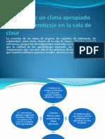 Creación de un clima apropiado para el aprendizaje.pptx