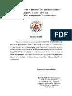 Main Crtificate