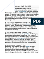 25 Aplikasi Android Yang Wajib Kita Miliki