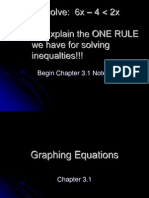 chapter 3 1 - graphing equations