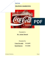 project on Coca Cola in Pakistan