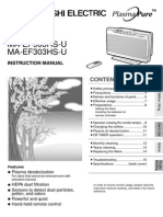 Air Purifier Instructional Manual - Mitsubishi - Unique Indoor Comfort