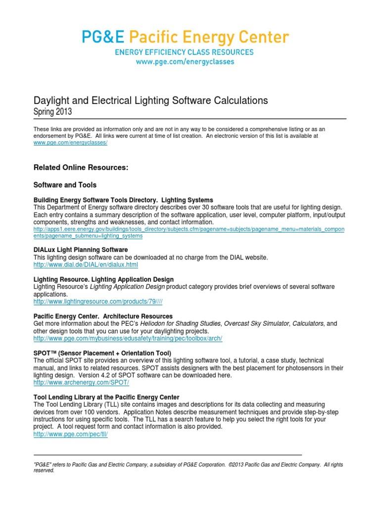 Light_Soft_Calcs_resourceS13.pdf | Lighting | Efficient Energy Use