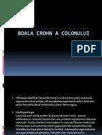 2. Boala Crohn a Colonului