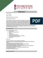 tba chemistry syllabus 2014