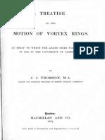 JJ-THOMPSON_Treatise on the Motion of Vortex Rings
