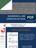 CLASE 07. ADHERENCIA, ANCLAJE Y LONGITUD DE DESARROLLO.pdf