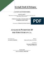 Analisi di Pushover 3D Per Strutture in C.A. - Ing. Maurizio Serpieri