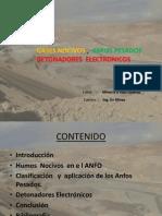 Anfo; Anfos Pesados ; Detonadores Electronicos.pptx