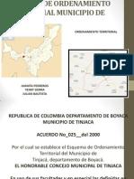 ESQUEMA DE ORDENAMIENTO TERRITORIAL MUNICIPIO DE TINJACA.pptx