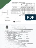 Kisi Kisi Dan Soal Uts 1 Pkn Kelas III