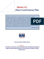 wm isd 111 local literacy plan 14 15