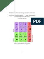 Partículas Elemtnales y Modelo Estandar