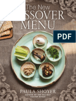 New Passover Menu Teaser