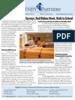Community Partners' October 2014 Newsletter