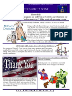 Nativity Scene Newsletter October 2014