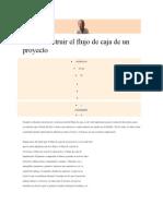 Cómo construir el flujo de caja de un proyecto.docx