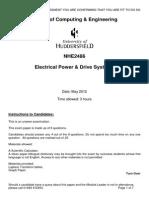 NHE2486-Main12-Power Year 4 Past Paper