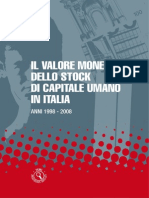 Lo Stock Di Capitale Umano in Italia - 18_feb_2014 - Testo Del Volume