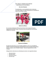 Danzas de Guatemala Ilustrado