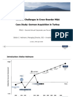Cultural Challenges in Cross-Boarder M&a Case Study