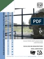 Zonificacion FAD UNAM