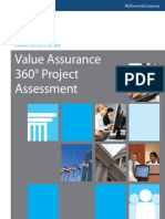 Value Assurance 360 Project AssessmentPSP