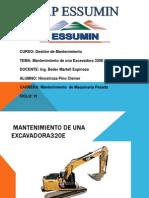 MANTENIMIENTO DE UNA EXCAVADORA320E.pptx