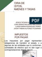 AUDITORIA DE IMPUESTOS, GRAVAMENES Y TASAS.pptx