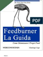 2008 - Guida di Feedburner