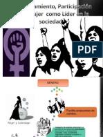 Empoderamiento, Participación de la  mujer  como Líder.pptx