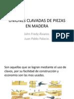 UNIONES CLAVADAS DE PIEZAS EN MADERA.pptx