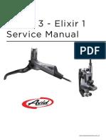 2012  Elixir™ 3 - Elixir 1  Service Manual