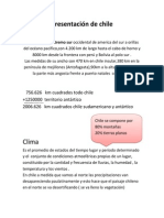 Presentacion de Cile, Zona norte, Grande y chico. Zona Centro..docx