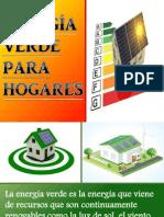 Energía Verde para Hogares