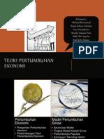 Teori Pertumbuhan Ekonomi Solow